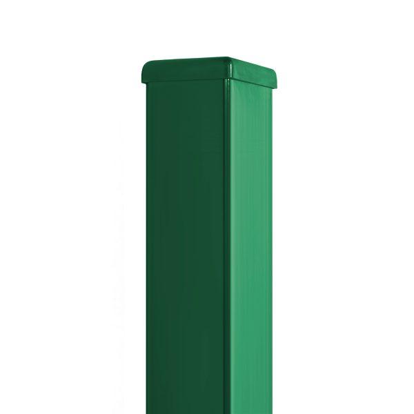Poste Hércules verde pregalvanizado.-Sistema Hércules.